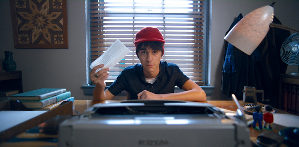 Catcher in the Rye and Alex Wolff - He's going total Holden.